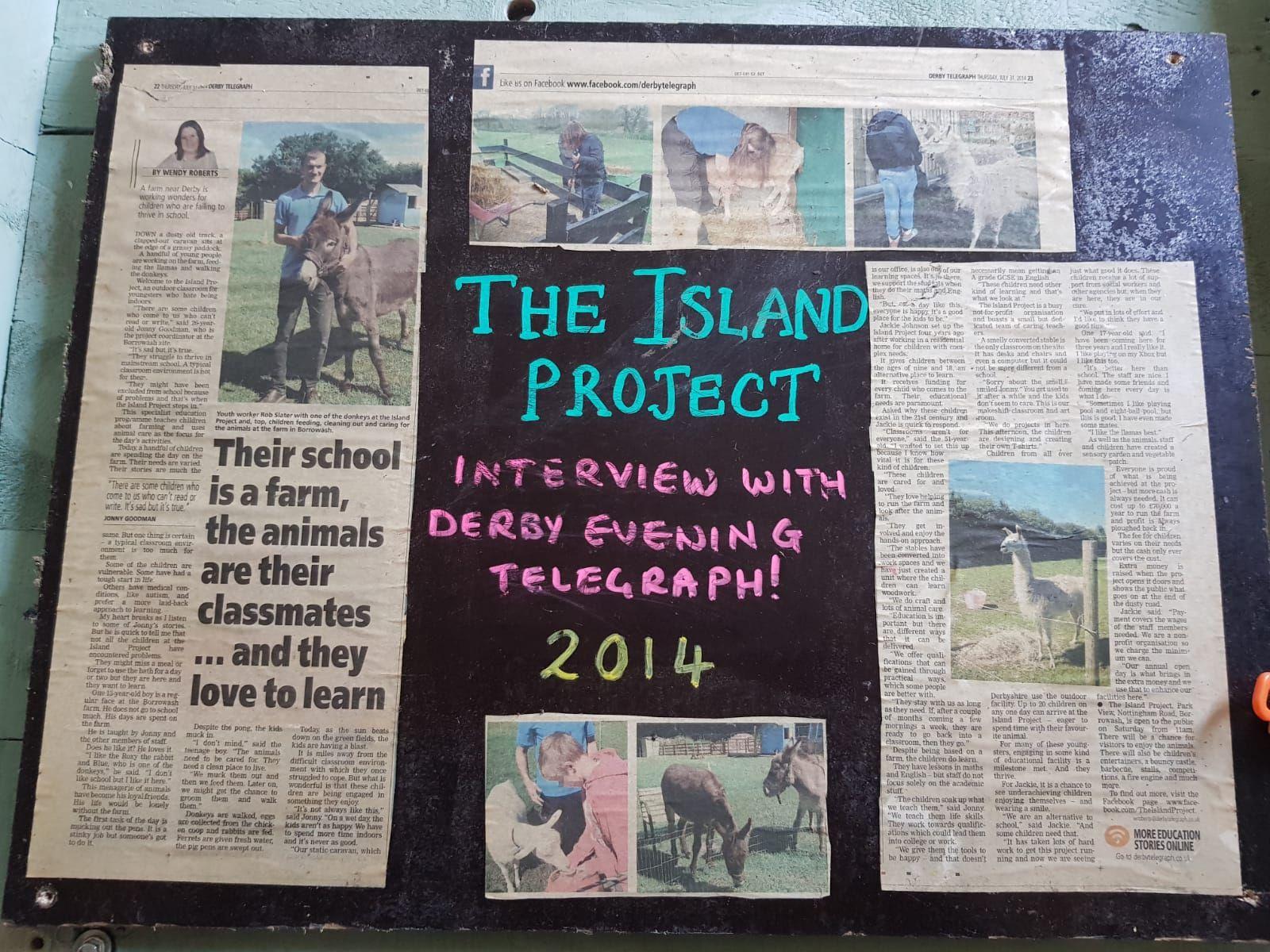 The Island Project Farming & Education 2014